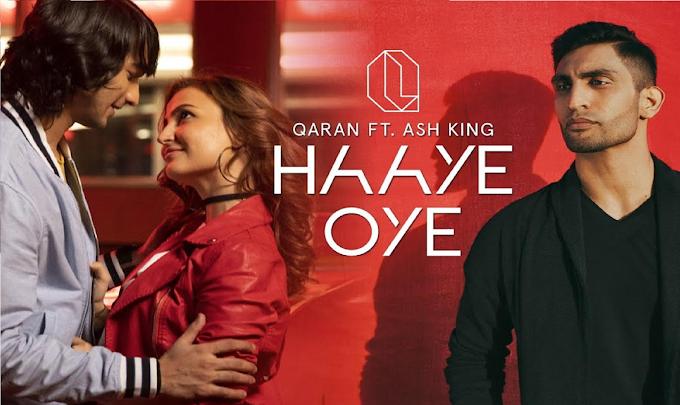 Haye Oye Guitar Chords  Lyrics with Strumming Pattern | Qaran ft Ash King