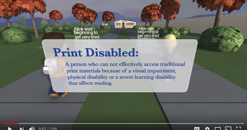 A Useful Digital Library for Students with Reading Difficulties