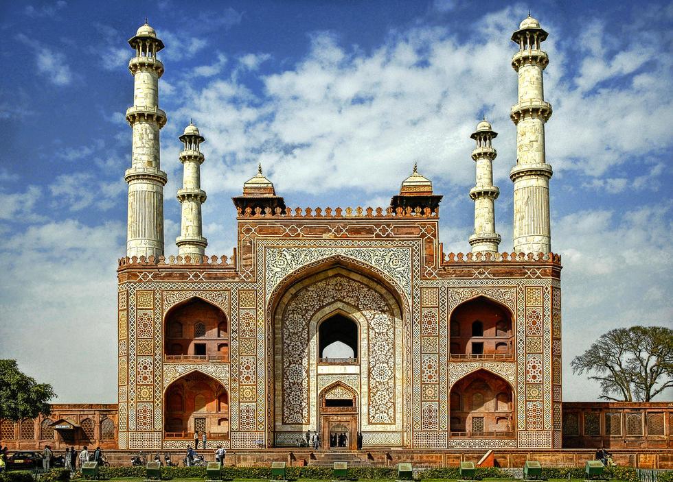 Incredible India Sikandra Tomb Agra