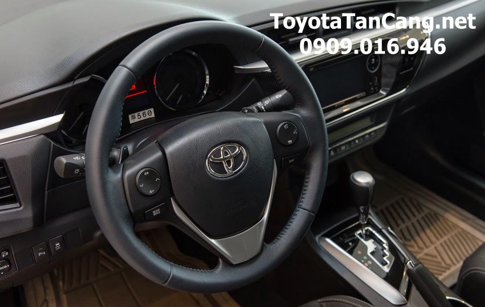 corolla altis 20 v toyota tan cang 25 - Đánh giá Toyota Corolla Altis 2.0V CVT 2015 - Giá trị đến từng chi tiết - Muaxegiatot.vn
