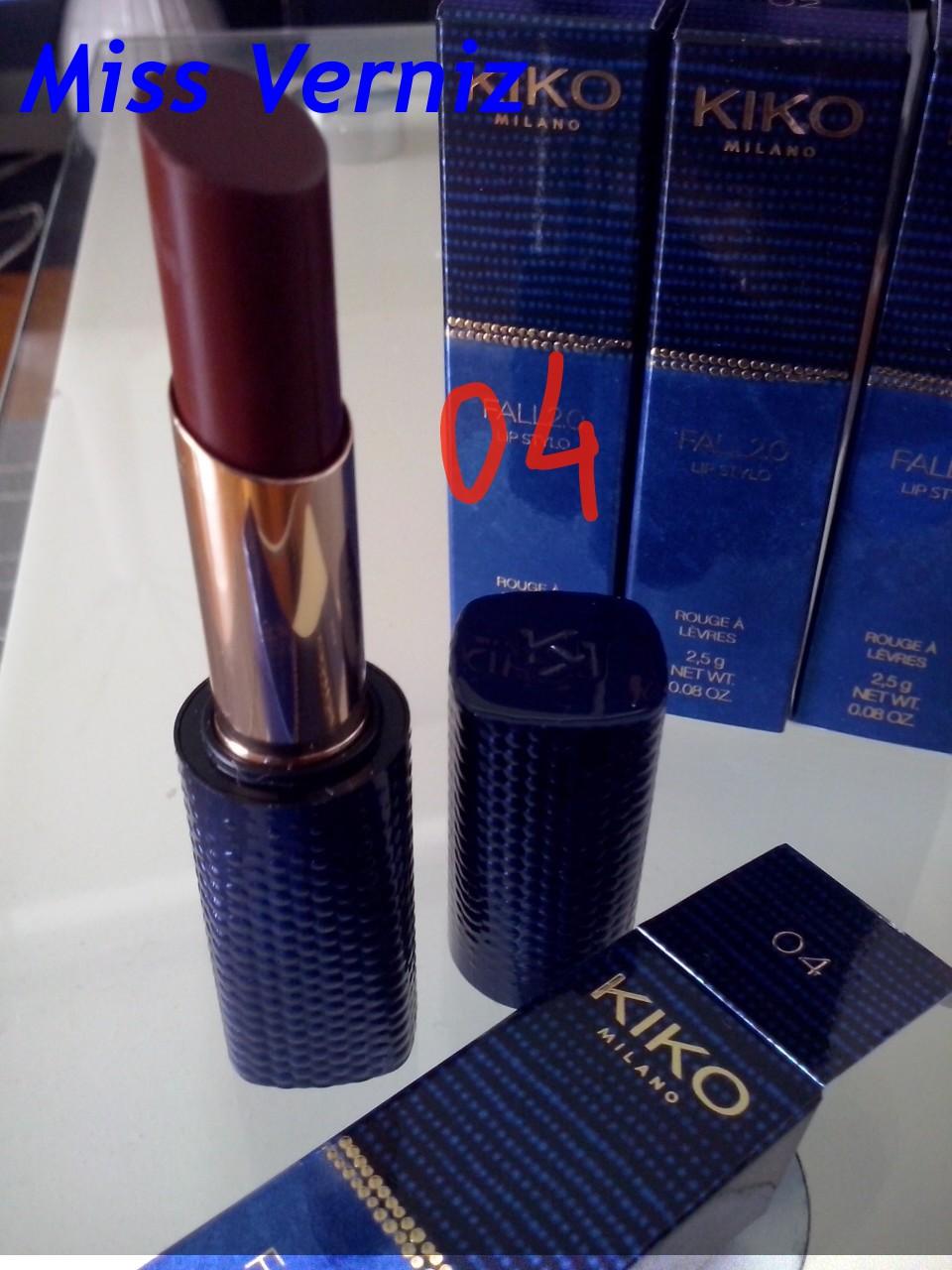 Miss Verniz Kiko Fall 20  Lip Stylo-1262