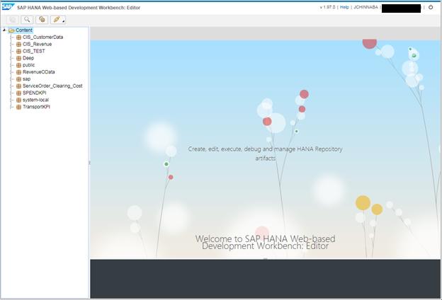 SAP WebIDE for HANA 1 0 SPS 12