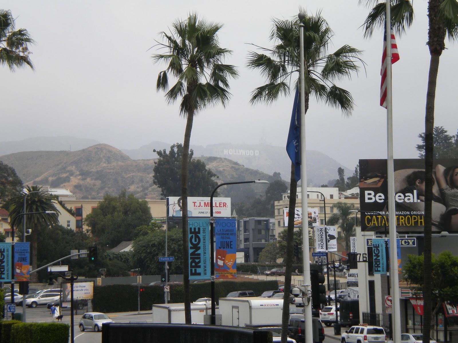 Hollywood-kyltti Los Angeles kiertoajelu Mallaspulla matkakertomus