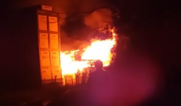 Kebakaran Kembali Terjadi di Bone,  Si Jago Merah Ratakan 1 Rumah di Pappolo