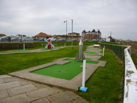 The Arnold Palmer Putting Course in Whitby