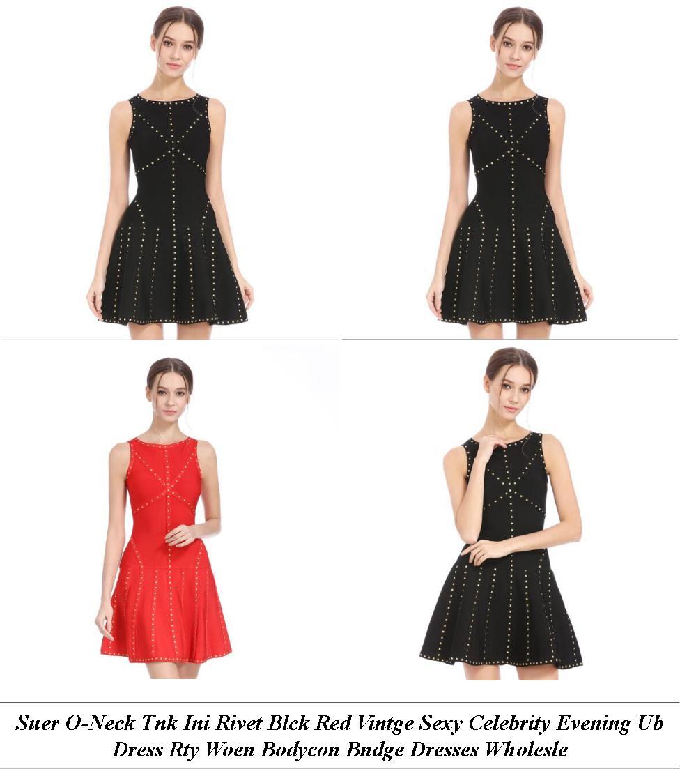 Womans Dresses - Summer Dress Sale Clearance - Off The Shoulder Dress - Cheap Womens Clothes