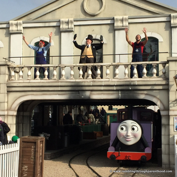 Knapford Station Shows in Thomas Land