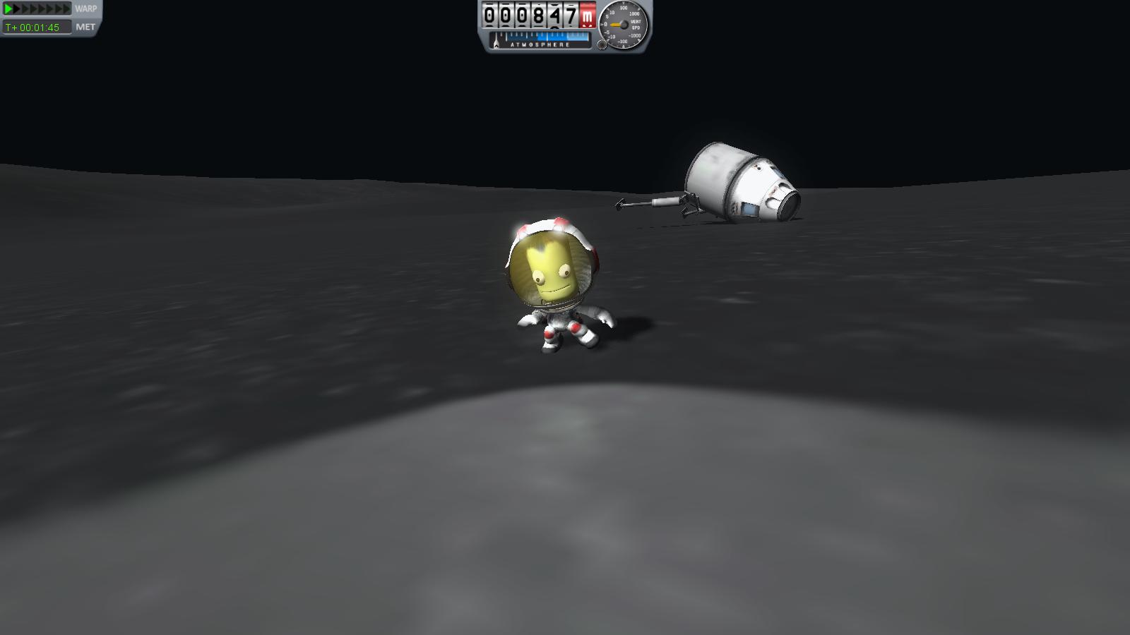 Kerbal KSP 0.16: Mun Rescue EVA Part 1 | Kerbal Space ...