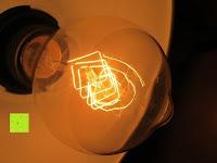 Licht: amzdeal® Vintage Glühlampe Glühbirne T03 (40W, E27, 220-240V)