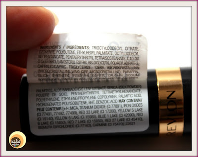 Revlon Super Lustrous Crème Lipstick - Cherries In The Snow 440 ingredients