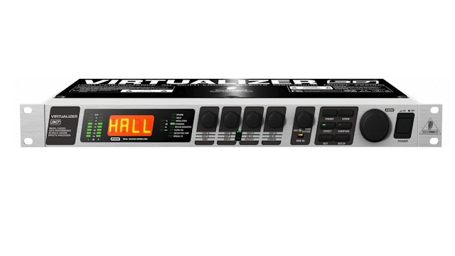 cara memesang efek pada mixer audio
