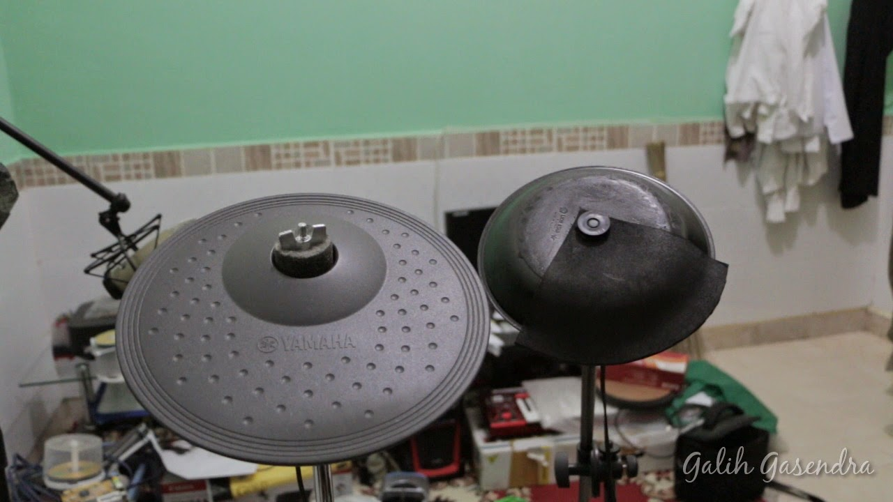 How To Make Diy Ecymbal Pads From Plastic Plate For