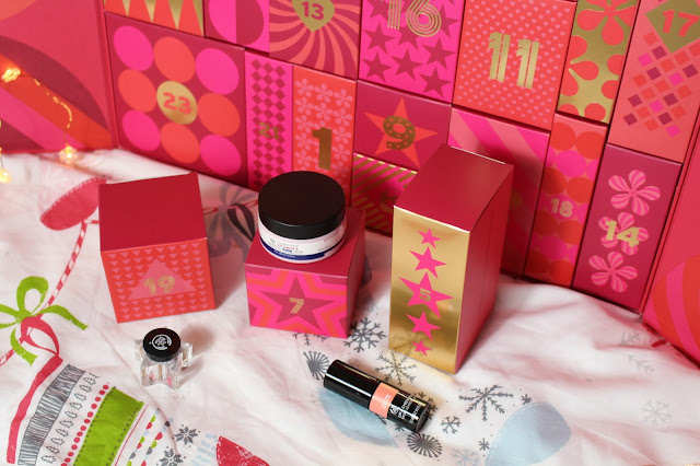 the body shop advent calendar christmas
