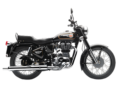 Royal Enfield Bullet 350 side view image