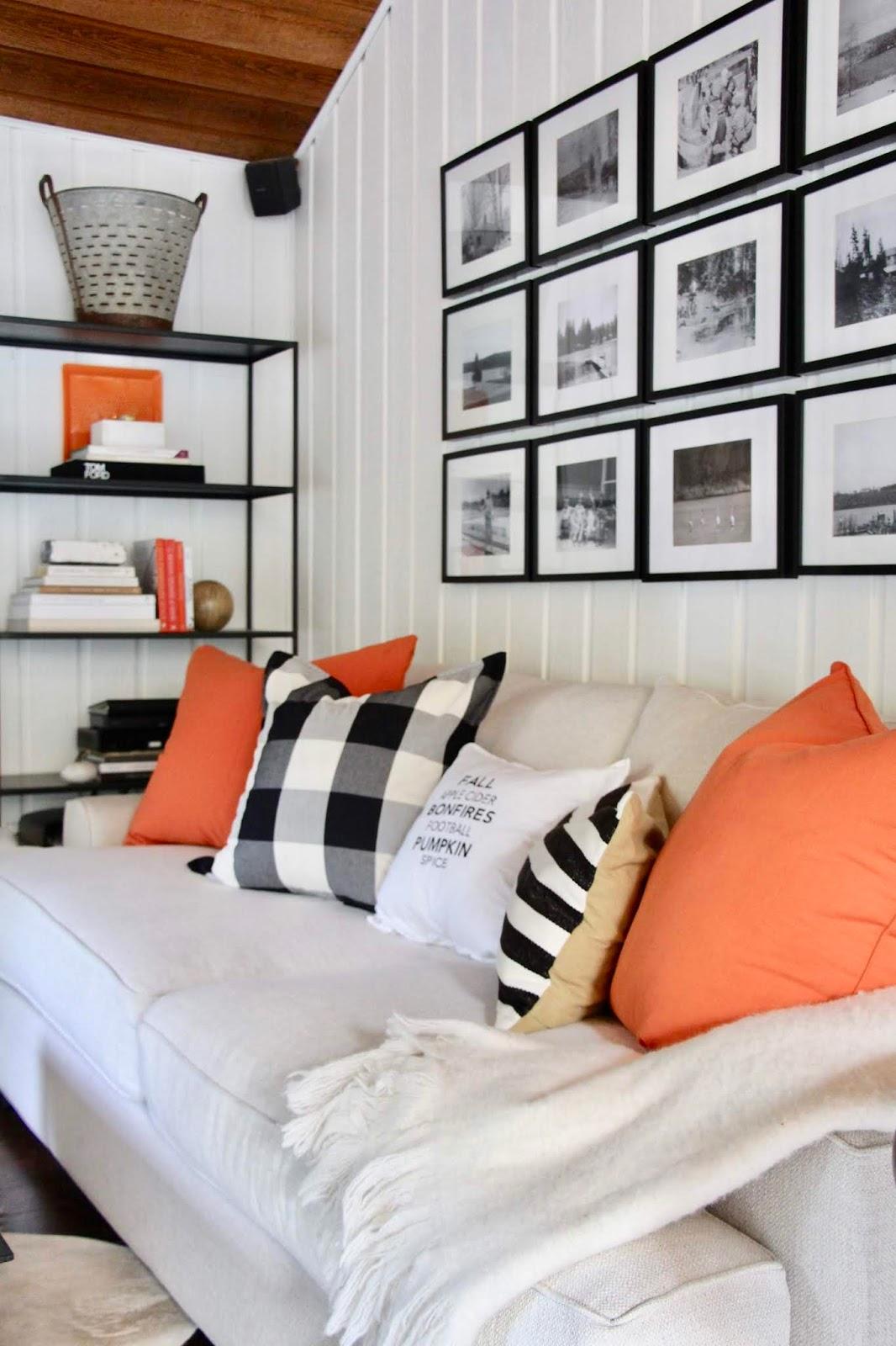 My Sweet Savannah: ~family room with pops of orange for fall~ on facebook orange, twitter orange, word orange, jpeg orange, ajax orange, microsoft orange,
