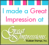 Winner Great Impressions Challenge Blog
