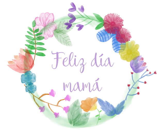 imprimibles, dia de la madre, png, watercolor, descargar, gratis
