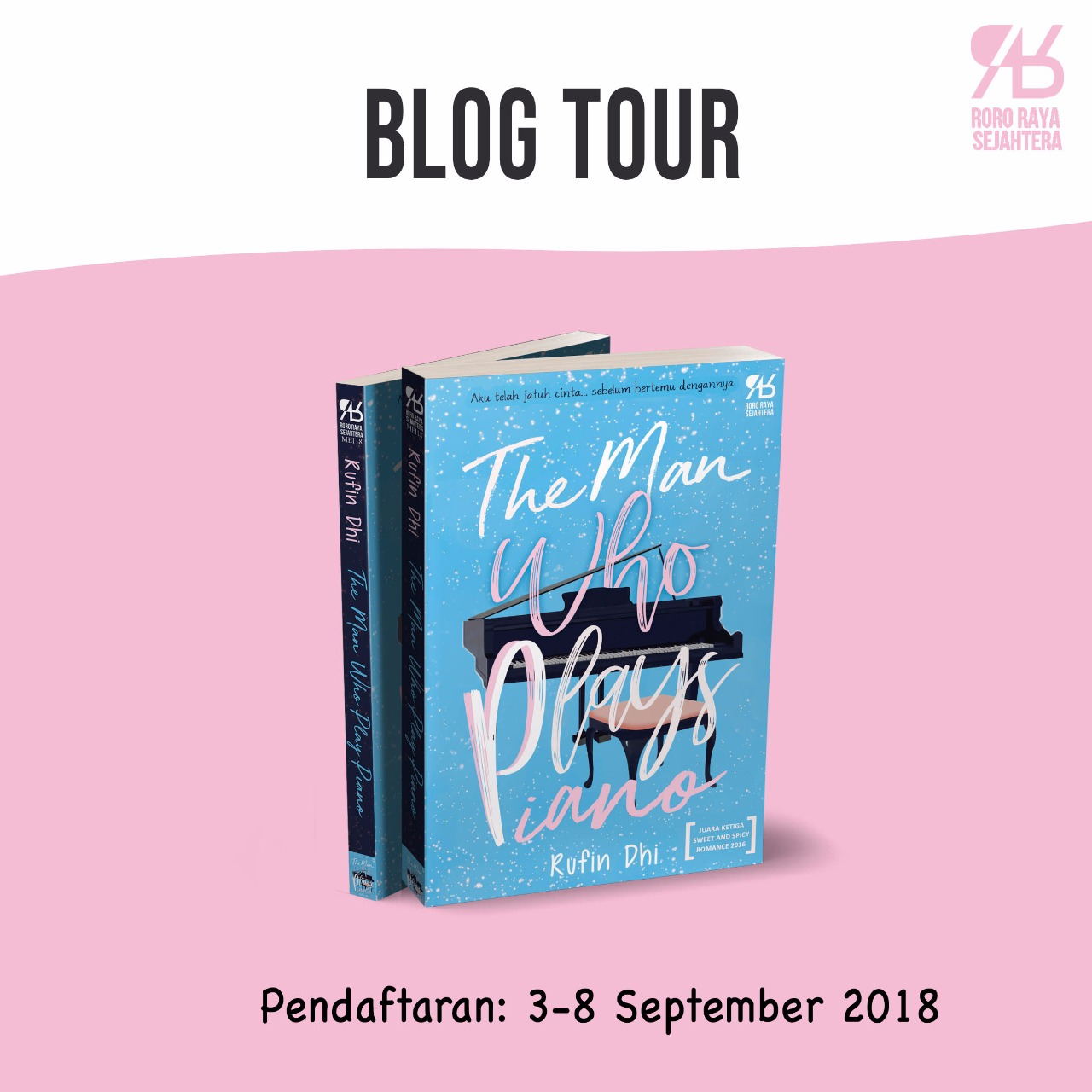 STAY TUNE FOR BLOG TOUR!