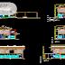 مخطط مشروع مذابح البلدية اوتوكاد dwg