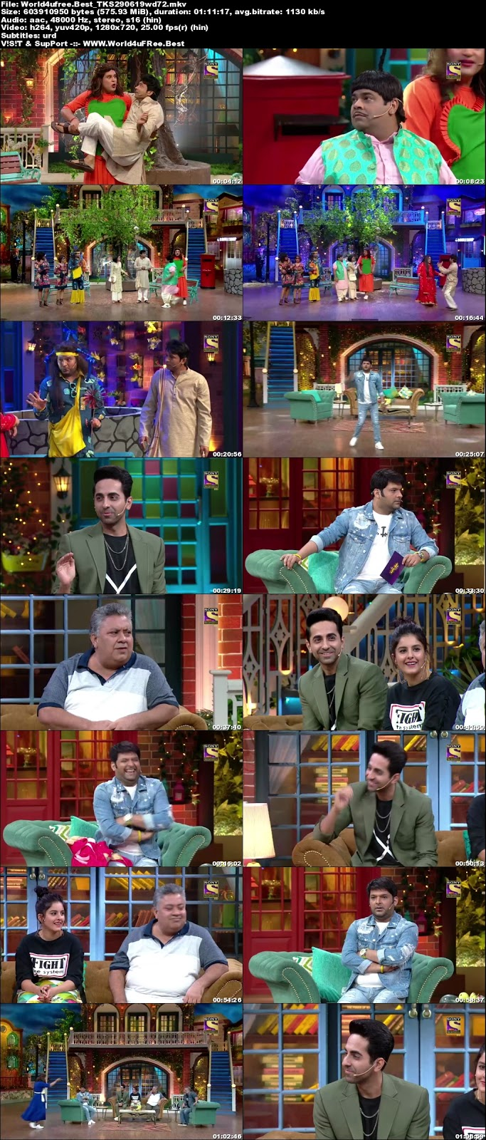 The Kapil Sharma Show S02E53 29 june 2019 720p WEBRip 600Mb