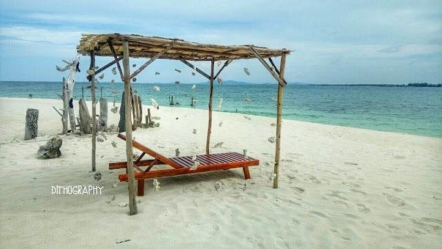 pulau beralas pasir, white sand island, bintan, indonesia