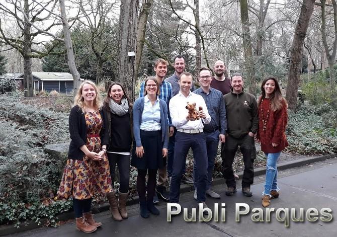 Terra Natura Murcia ha participado en Ámsterdam (Holanda) en el comité del Programa Europeo de Especies en Peligro (EEP) sobre la hiena.