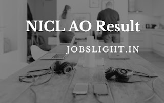 NICL AO Result