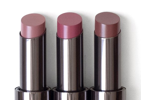 Lise Watier Rouge Intense Suprême Lipsticks Review Kim Kelly Daphne