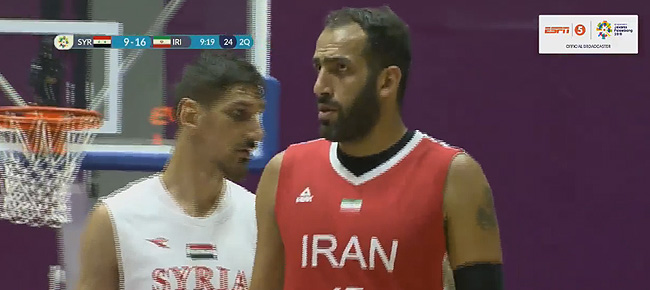 Iran def. Syria, 68-55 (VIDEO) 2018 Asian Games Men's Basketball