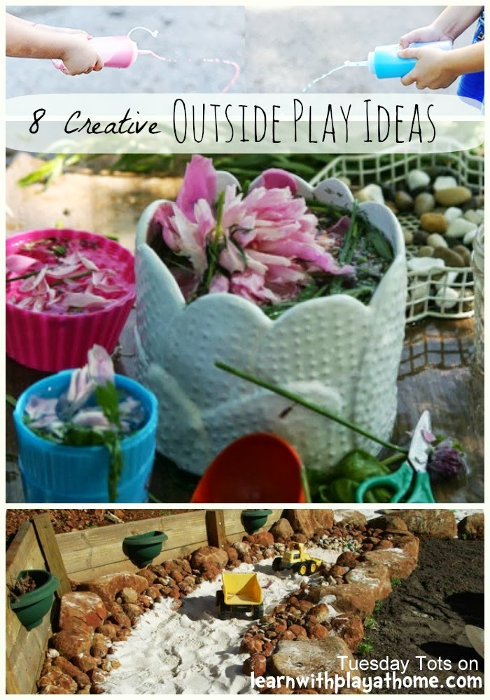 Learn With Play At Home 8 Creative Outside Play Ideas For Kids