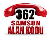 0362 Samsun telefon alan kodu