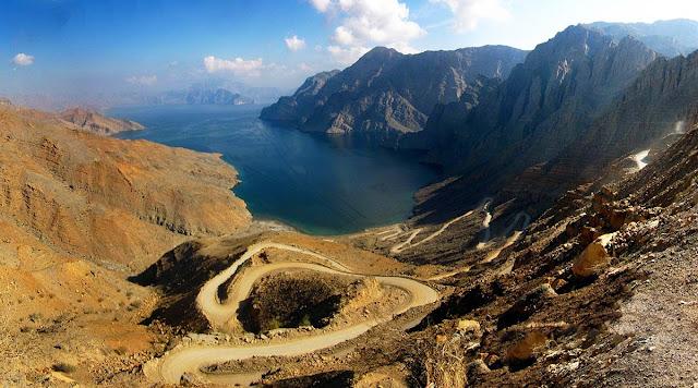 A incrível estrada de Musandam - Oman