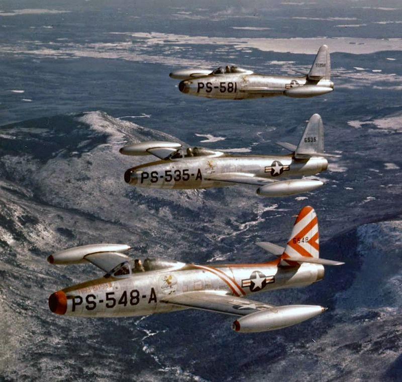 1/300 Scale F-84G's By Luftwaffe Miniatures | Kyle's
