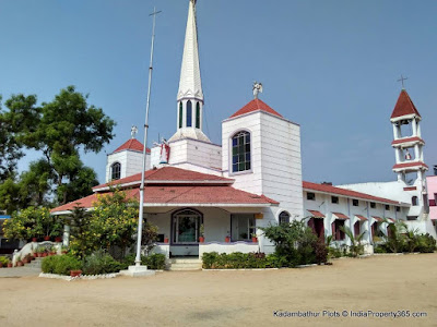 Kadambathur Plots - Kadambathur Church - Near Railway Station
