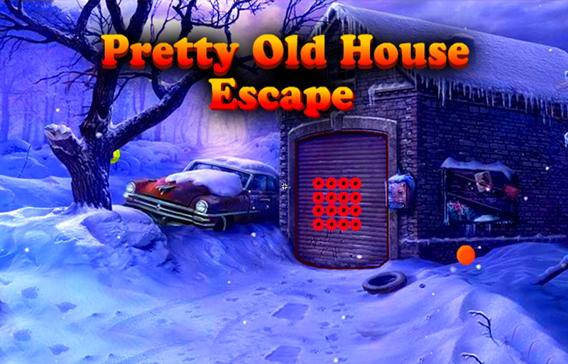 Avm games walkthrough pretty old house escape for Classic house walkthrough