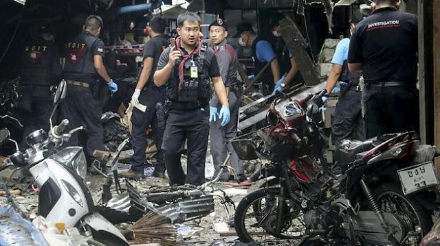 Pasar Muslim Thailand Diguncang Bom, 3 Tewas Dan 18 Luka Serius