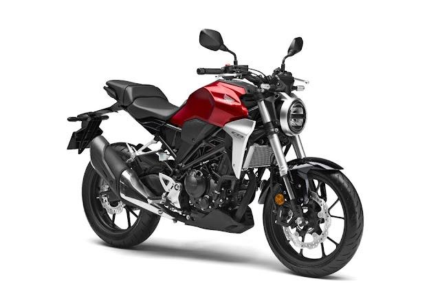 La Honda CB300R 2018