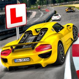 Gratis Game Driving School Test Car Racing APK