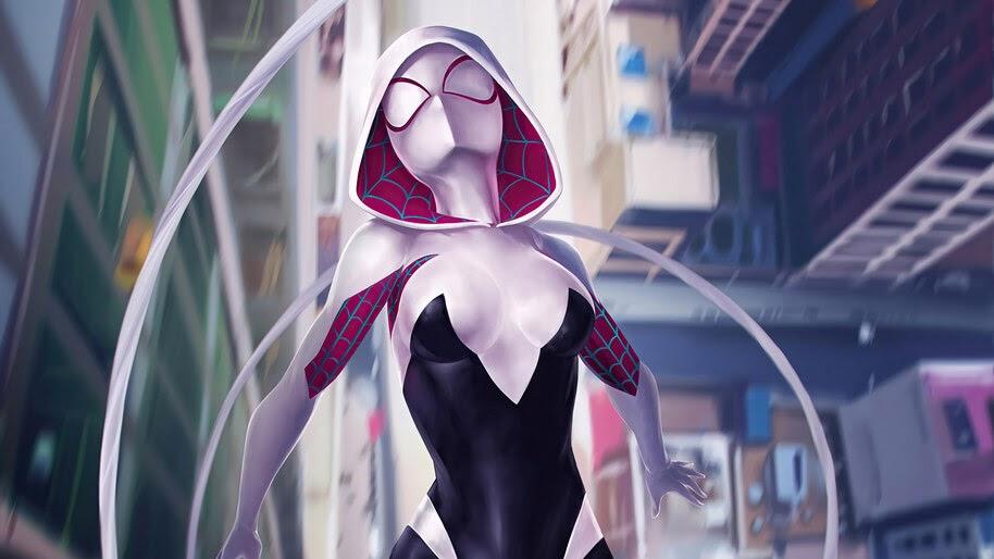 Spider-Gwen, Marvel, Superhero, 4K, #6.1199