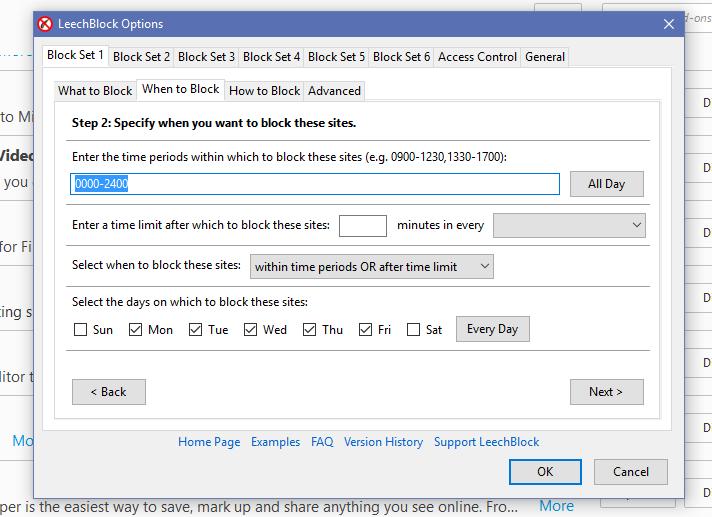 MOMETEK's Guide: Overzealous Blocking with Leechblock