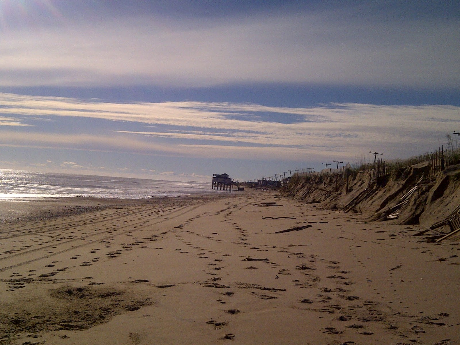 Kitty Hawk Beach Looking South
