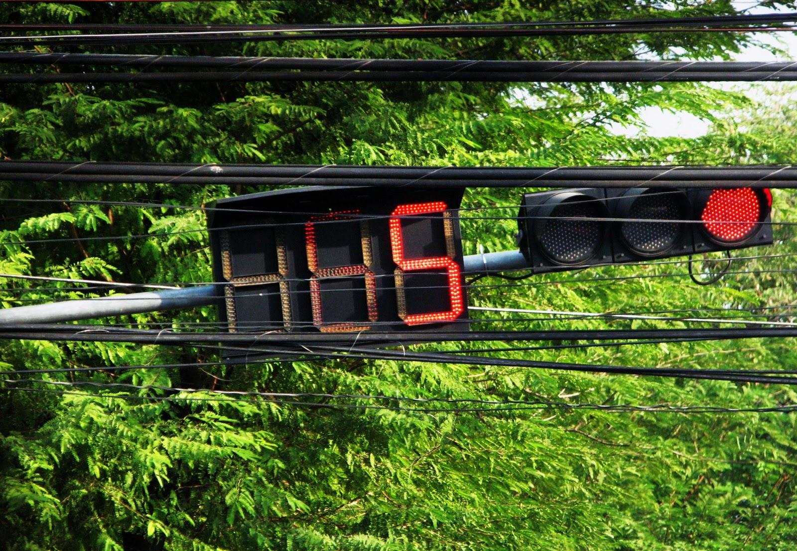 Semáforo con cronómetro