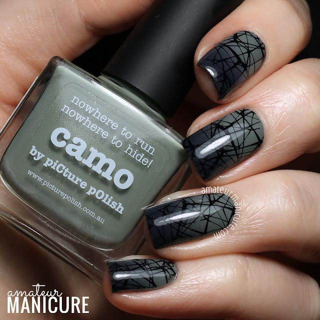 Amateur Manicure : A Nail Art Blog: Misty Green-Grey ...