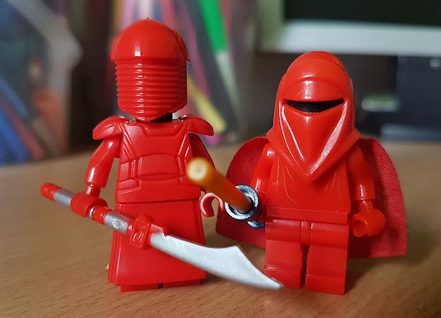 Алая гвардия Сноука и Палпатина, телохранители, стража, фигурки лего купить