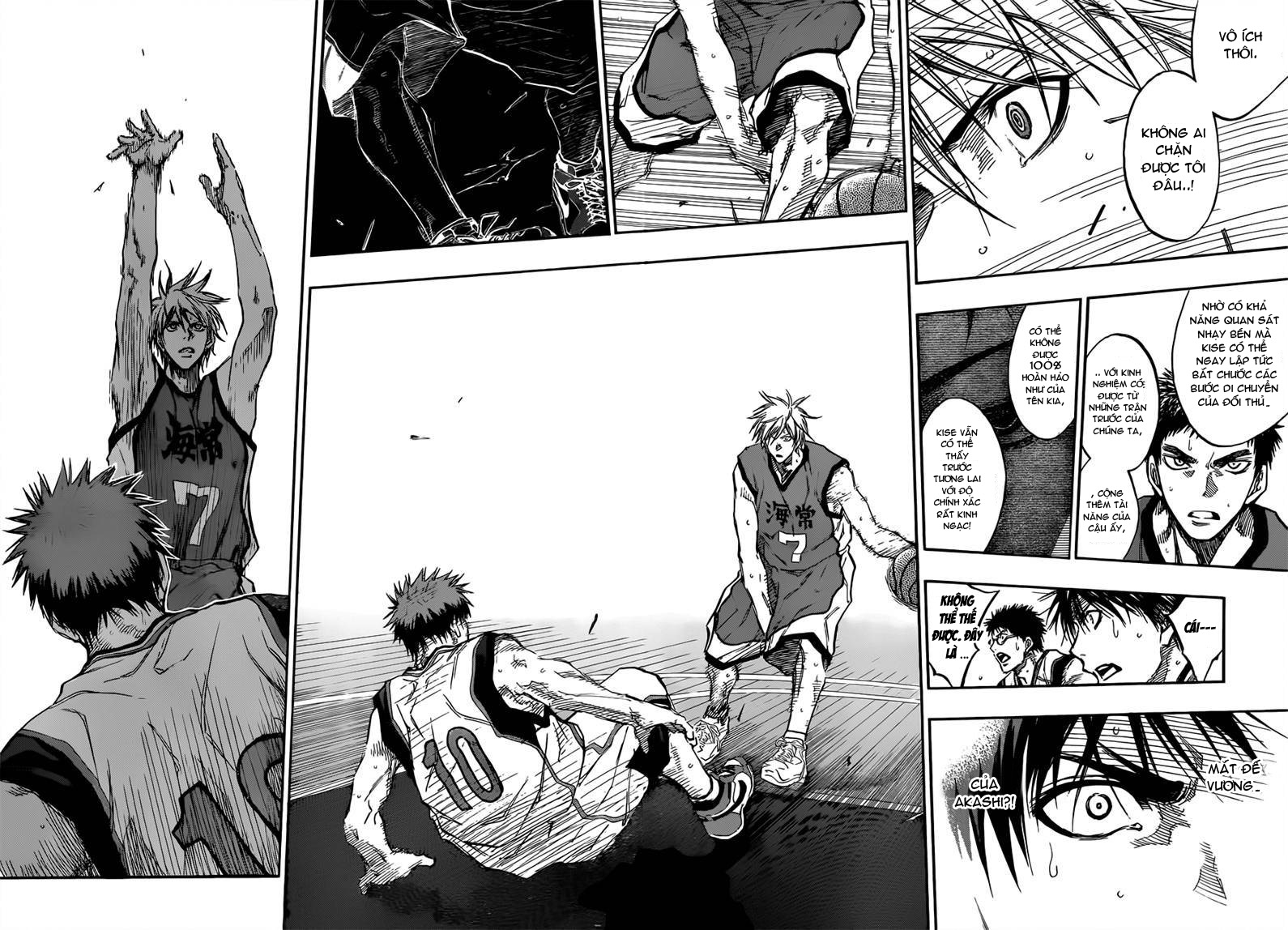 Kuroko No Basket chap 185 trang 10