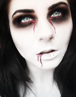 maquiagem festa dia das bruxas