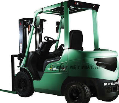 Xe nâng Diesel Mitsubishi tải trọng 4 tấn – 5,5 tấn