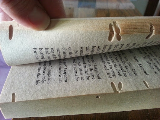 A Book a Week 2014: Made, Altered, Repaired. Week 29