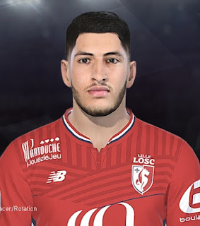 PES 2018 Faces Yassine Benzia by Tiitoo