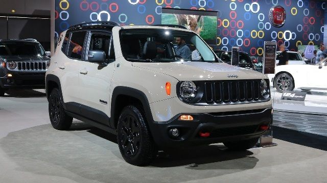 2018 Jeep Renegade Pictures